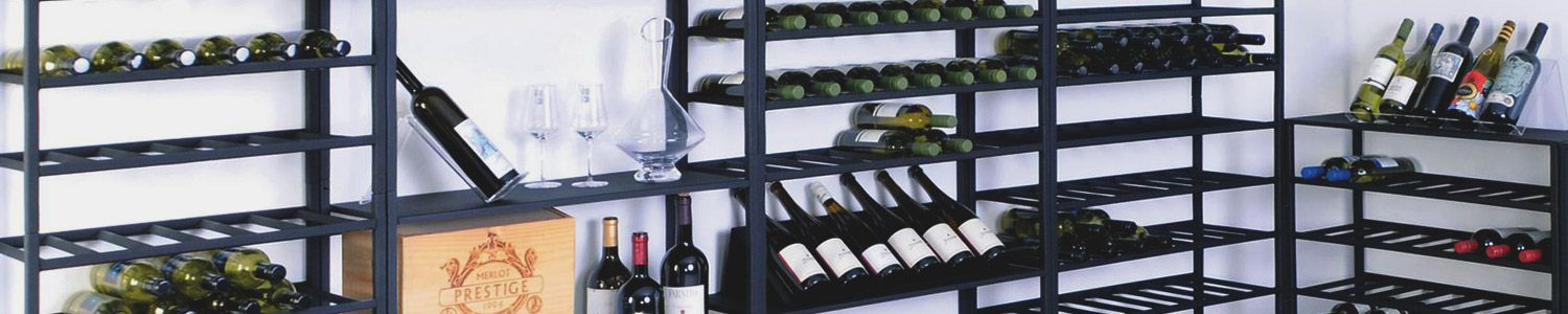 Single Metal Wine Racks