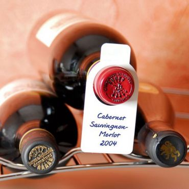 Wine bottle hang-tags