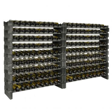 Wooden wine rack CASANOVA, slate