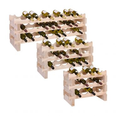 Wooden wine rack system CASANOVA
