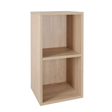 Rack module, narrow, D 33 cm, light oak