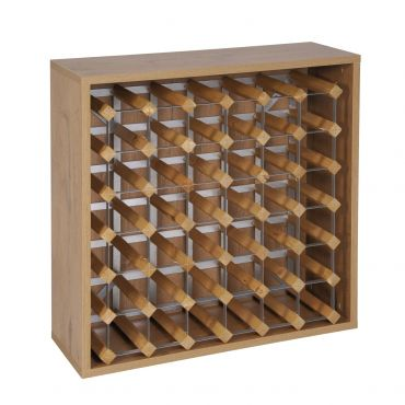 Rack module for 36 bottles, country oak