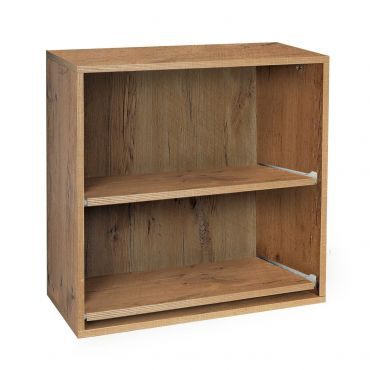 Module with 2 sliding shelves country oak