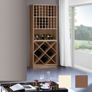 Wine rack PRESTIGE 3 made of solid oak