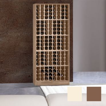 Wine rack PRESTIGE 5 made of solid oak