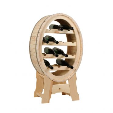 Small wine barrel rack