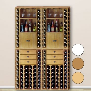 Wooden wine rack system PROVINALIA