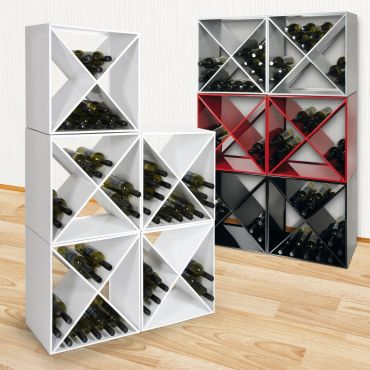 Metal wine rack System CUBE