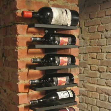 Wall Mounted Wine Rack for 1.5 litre Magnum Bottles