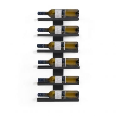 Wall Mounted Wine Rack TESSIN Made of Metal