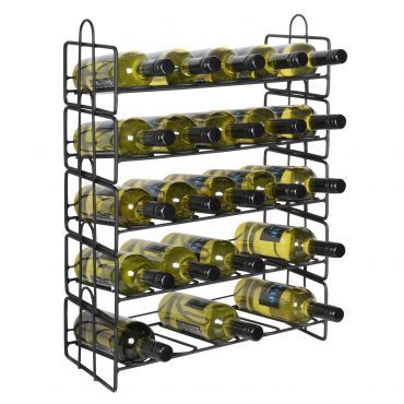 Metal wine rack TRENTINO