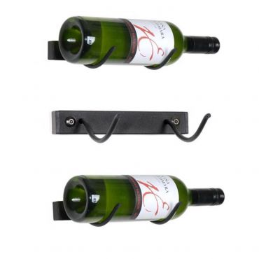 Wall wine rack SOLO made of metal