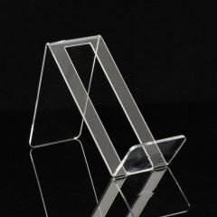 Acrylic display stand BELLA for1 bottle
