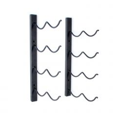 Wall wine rack DUO for 8 bottles