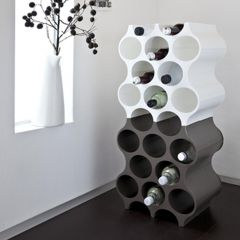 Wine rack system SET_UP, synthetic material