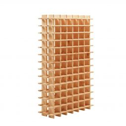 Wine rack modular PRIMAVINO natural for 84 bottles