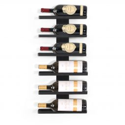 Wall Mounted Wine Rack for 6 Magnum Bottles