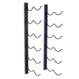 Wall wine rack DUO for 12 bottles