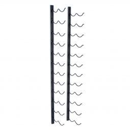 Wall wine rack DUO for 24 bottles