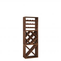 "Wine rack CUBE 50,""standard"" ""diamond""+""X"",3 piece set"
