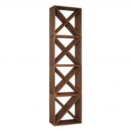 "Wine rack CUBE 50,  ""X"", 4 piece set"