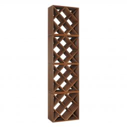 "Wine rack CUBE 50, ""diamond"", 4 piece set"