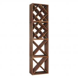 "Wine rack CUBE 50, 2 ""X"" + 2 ""diamond"", 4 piece set"